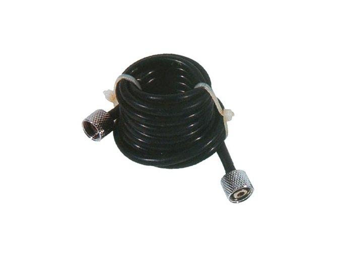 Čierna hadica Fengda BD-19 prípojná 1,5 m šrobovanie G1/8 - G1/8