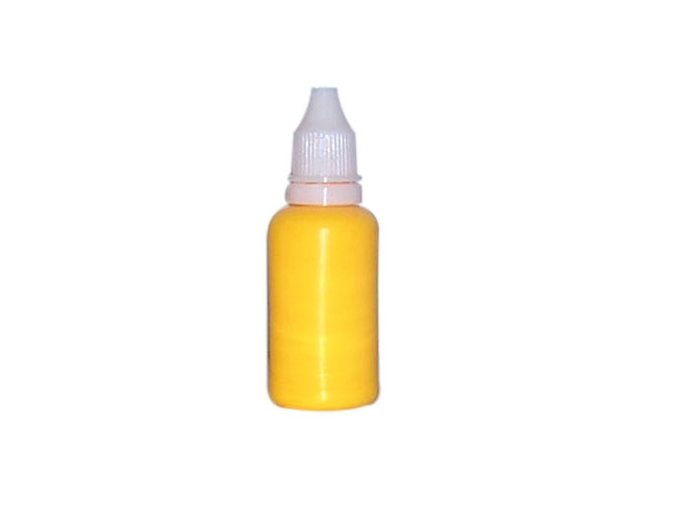 Airbrush fluorescentná Farba na nechty Fengda fluorescent golden