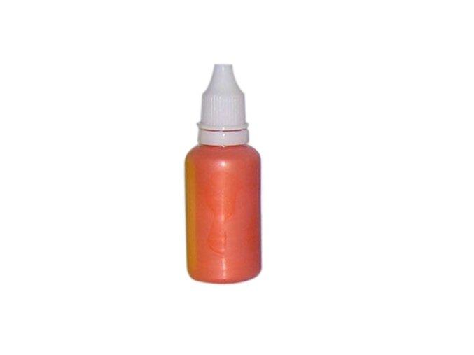 Airbrush perleťová Farba na nechty Fengda pearly orange