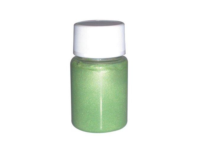 Airbrush tetovacia perleťová farba Fengda light green 40 ml
