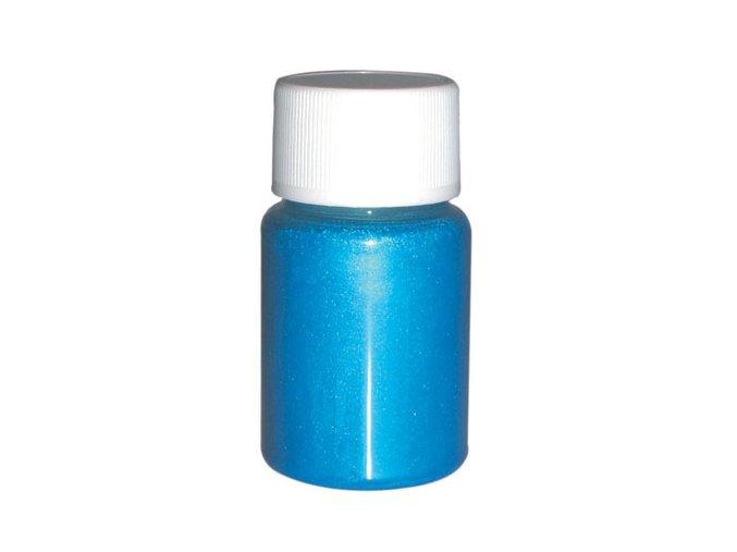 Airbrush tetovacia perleťová farba Fengda bright blue 40 ml