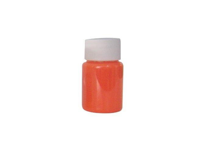 Airbrush tetovacia fluorescentná farba Fengda orange 40 ml