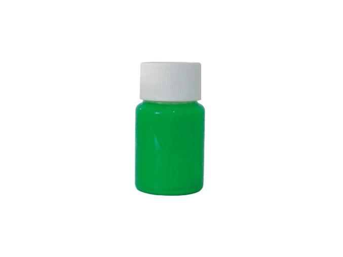 Airbrush tetovacia fluorescentná farba Fengda green 40 ml