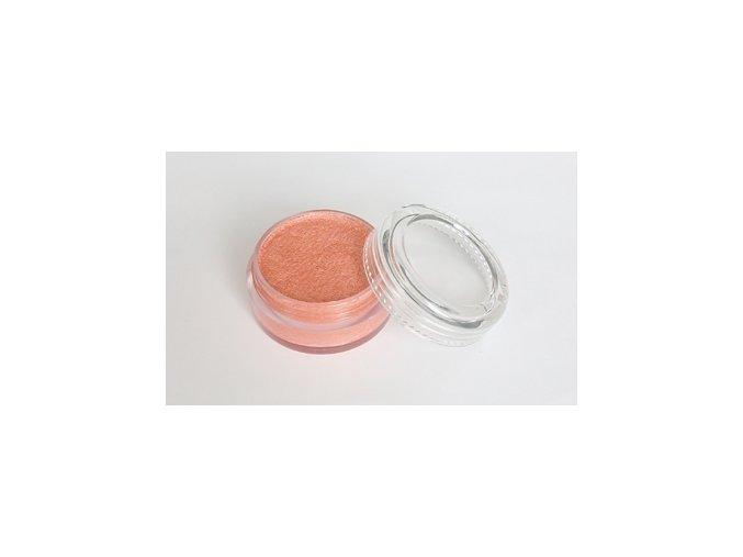 Perleťová farba pre maľovanie na telo Fengda body painting orange 10 g