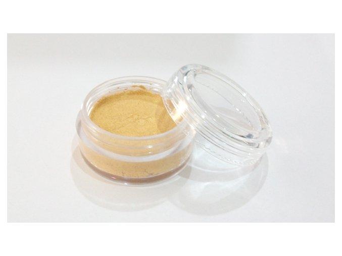 Perleťová farba pre maľovanie na telo Fengda body painting Pearly Golden 10 g