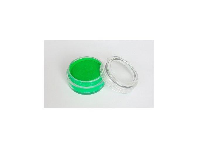 Fluorescentná farba pre maľovanie na telo Fengda body painting green 10 g