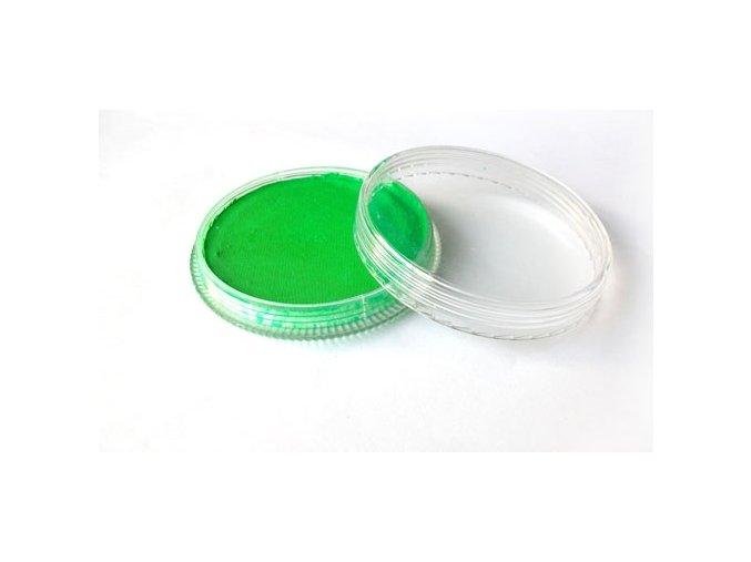 Fluorescentná farba pre maľovanie na telo Fengda body painting green 30 g