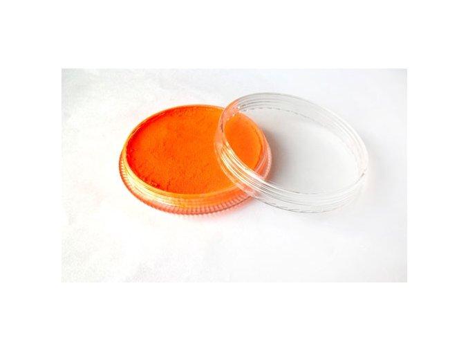 Fluorescentná farba pre maľovanie na telo Fengda body painting orange red 30 g