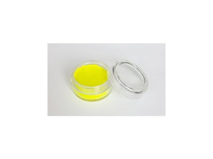 Fluorescentná farba pre maľovanie na telo Fengda body painting yellow 10 g