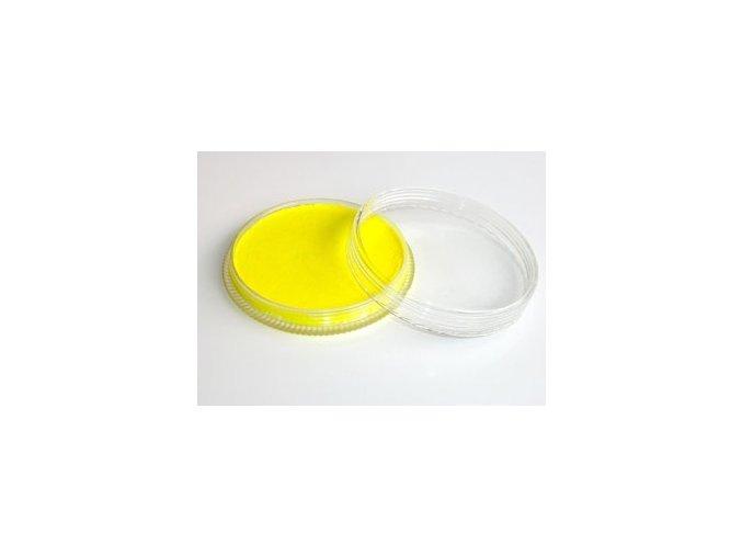 Fluorescentná farba pre maľovanie na telo Fengda body painting yellow 30 g