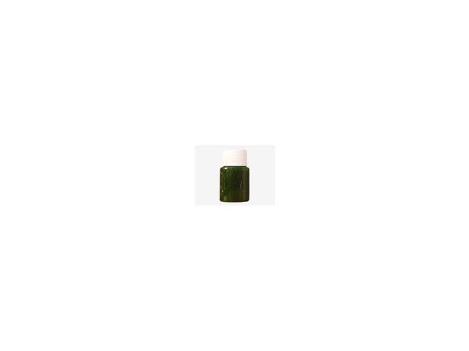 Týždenná bodypainting farba - zelená 40ml