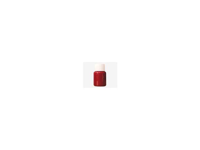 Týždenná bodypainting farba - červená 40ml