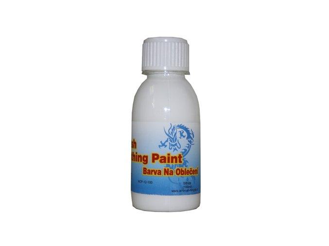 Airbrush farba na oblečenie Fengda white 100 ml