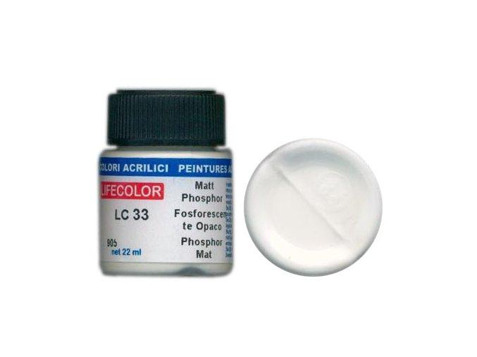 Farba LifeColor LC33 basic matt phosphor