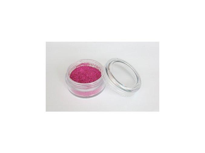 Trblietavý prášok Fengda Glitter 1 / 128 rose 10 ml