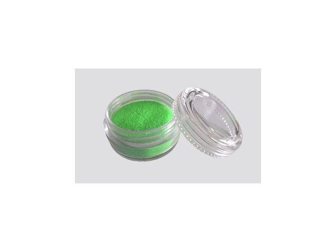 Trblietavý UV prášok Fengda Glitter 1 / 256 green 10 ml