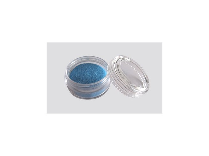 Trblietavý UV prášok Fengda Glitter 1 / 256 blue 10 ml