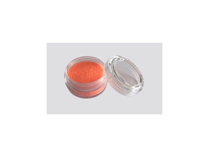 Trblietavý UV prášok Fengda Glitter 1 / 256 orange 10 ml