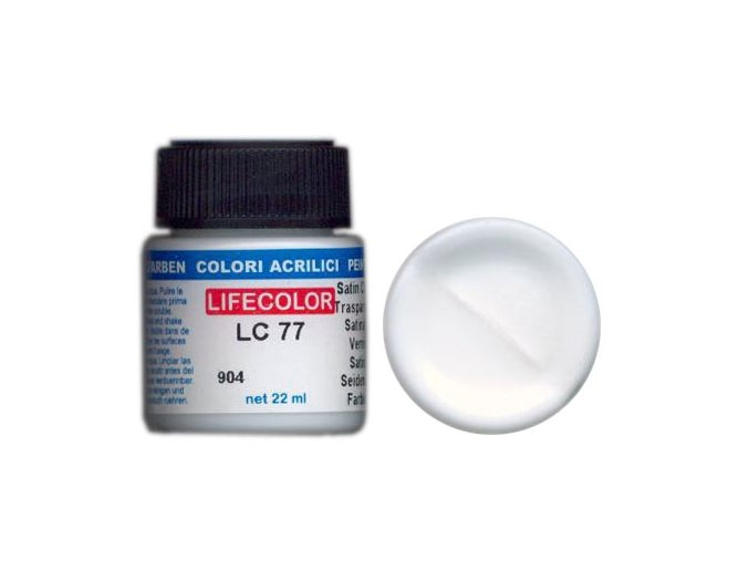 Lak LifeColor LC77 basic gloss satin clear