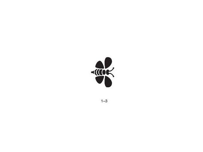 Šablóna pre trblietavé tetovanie Fengda 01-03