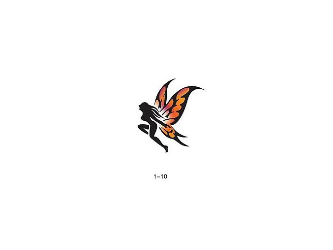 Šablóna pre trblietavé tetovanie Fengda 01-10