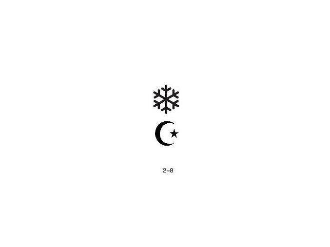 Šablóna pre trblietavé tetovanie Fengda 02-08