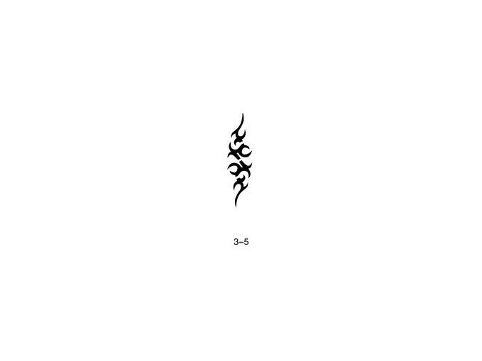 Šablóna pre trblietavé tetovanie Fengda 03-05