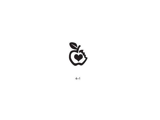 Šablóna pre trblietavé tetovanie Fengda 04-01