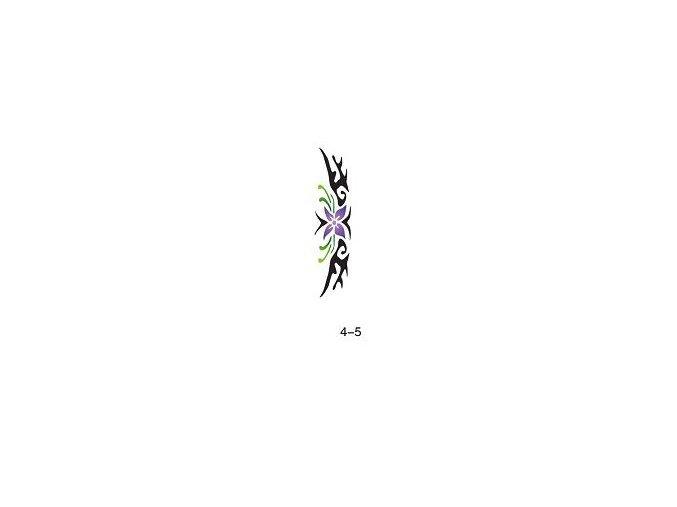 Šablóna pre trblietavé tetovanie Fengda 04-05