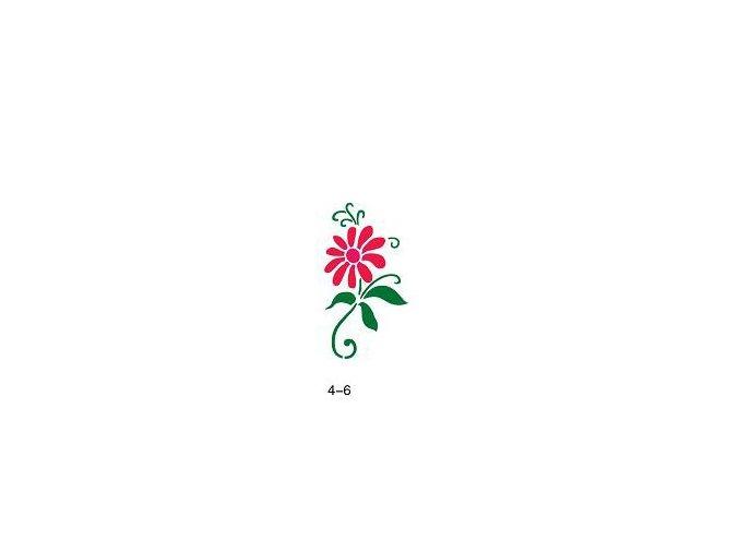 Šablóna pre trblietavé tetovanie Fengda 04-06