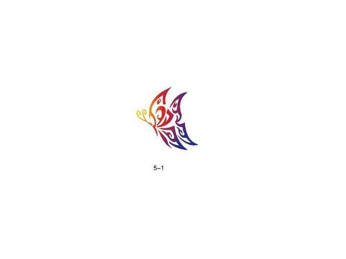 Šablóna pre trblietavé tetovanie Fengda 05-01