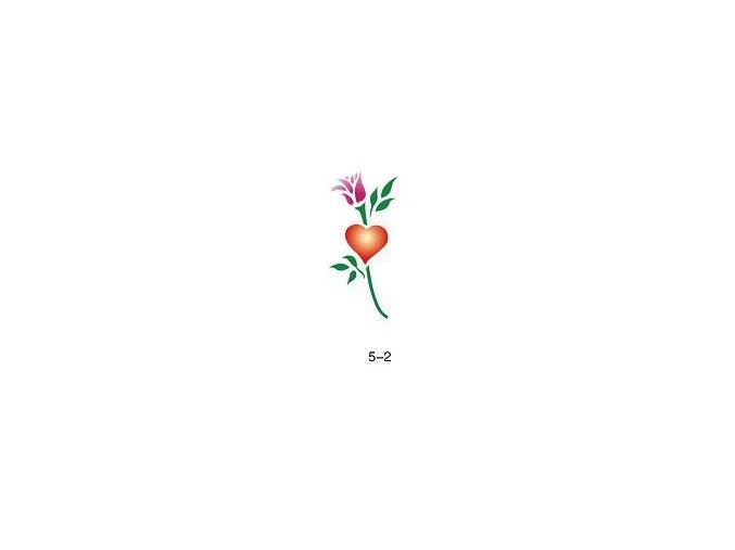 Šablóna pre trblietavé tetovanie Fengda 05-02