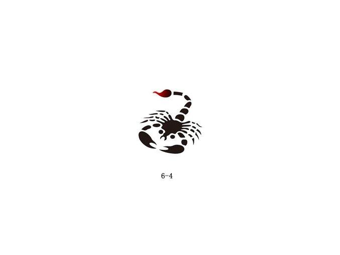 Šablóna pre trblietavé tetovanie Fengda 06-04