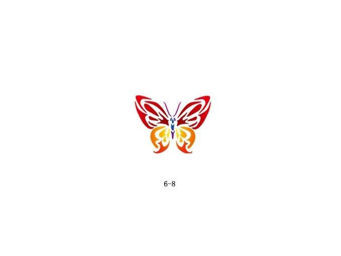 Šablóna pre trblietavé tetovanie Fengda 06-08