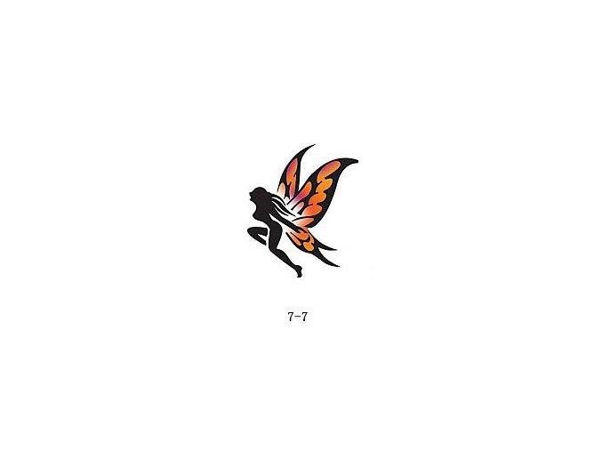 Šablóna pre trblietavé tetovanie Fengda 07-07
