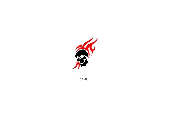 Šablóna pre trblietavé tetovanie Fengda  11-03
