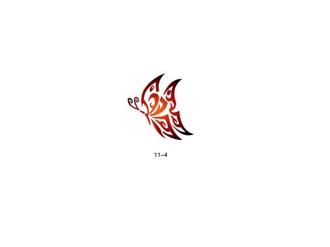 Šablóna pre trblietavé tetovanie Fengda  11-04