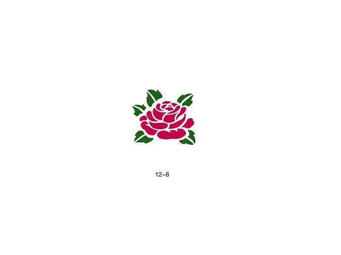 Šablóna pre trblietavé tetovanie Fengda  12-08