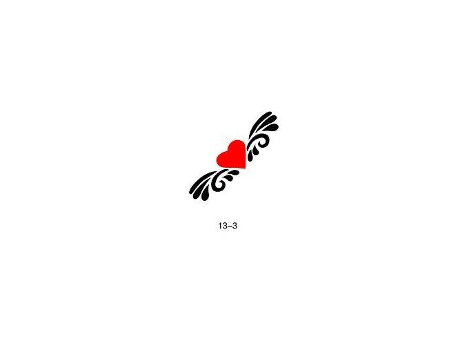Šablóna pre trblietavé tetovanie Fengda  13-03