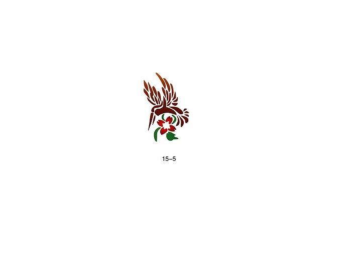 Šablóna pre trblietavé tetovanie Fengda 15-05