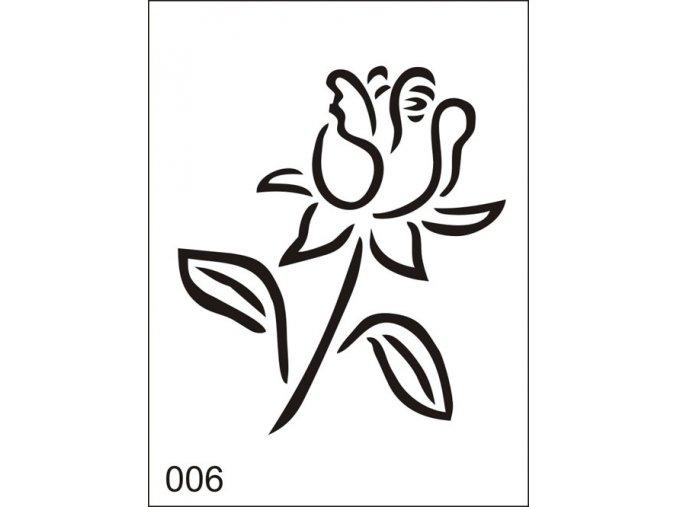 Airbrush tetovacia šablona pre jednorazové použitie M006