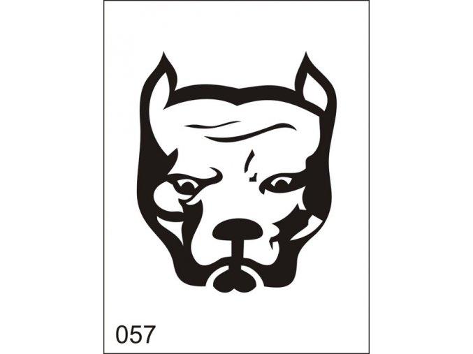 Airbrush tetovacia šablona pre jednorazové použitie M057