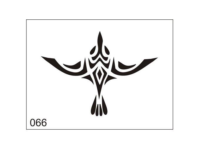 Airbrush tetovacia šablona pre jednorazové použitie M066