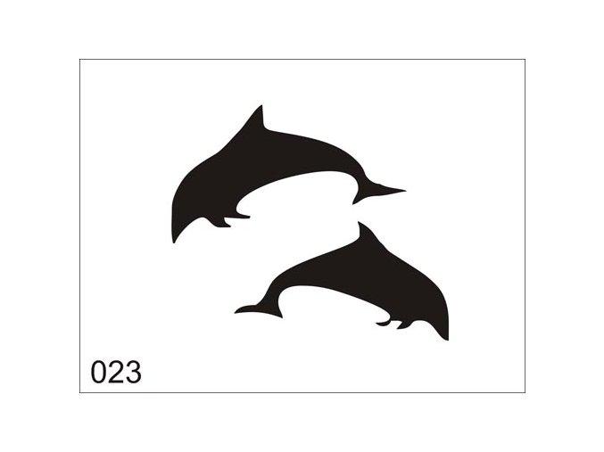 Airbrush tetovacia šablóna pre jednorazové použitie V023