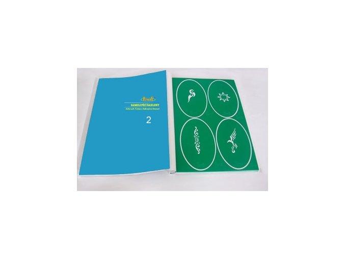 Airbrush tetovacie šablóny - kniha 02