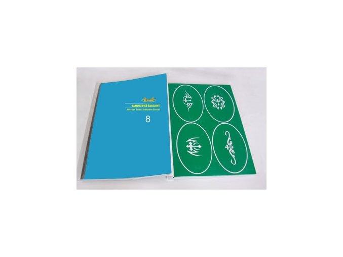 Airbrush tetovacie šablóny - kniha 08