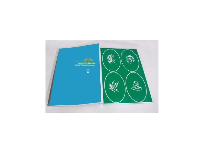 Airbrush tetovacie šablóny - kniha 09