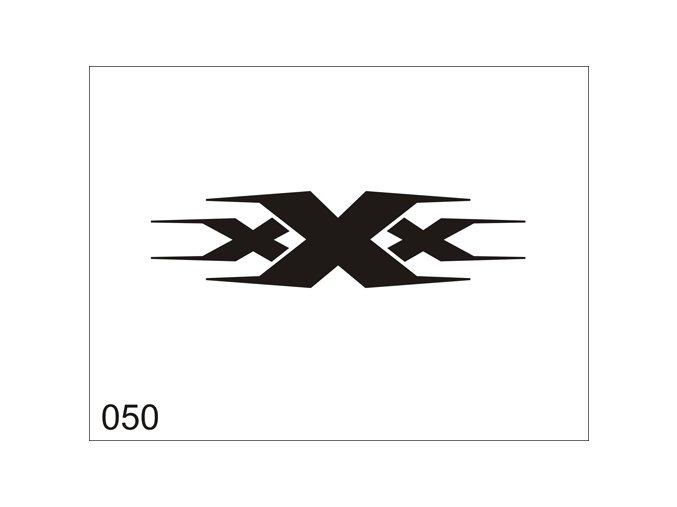 Airbrush tetovacia šablóna pre jednorazové použitie V050