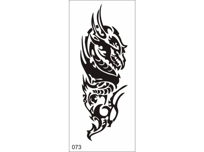 Airbrush tetovacia šablóna pre jednorazové použitie V073