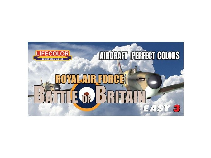 Set kamuflážnych farieb LifeColor MS06 BATTLE OF BRITAIN